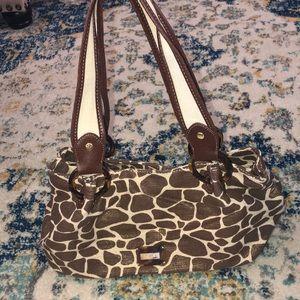 Relic Giraffe print bag